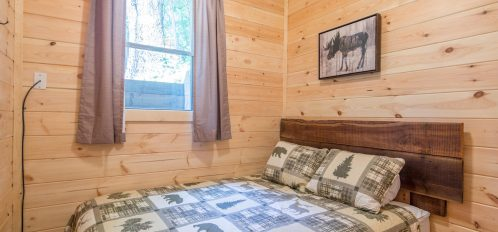 Ash Cave Cabin - Bedroom 2