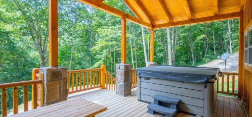 Ash Cave Cabin - Porch 2