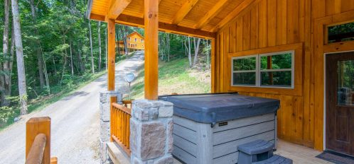 Ash Cave Cabin - Hot Tub