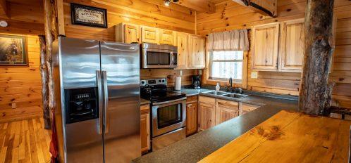 Bear Fork Lodge - Kitchen