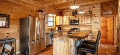 Patriot Lodge - Kitchen