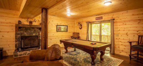 Thelma's Retreat - Downstairs Den
