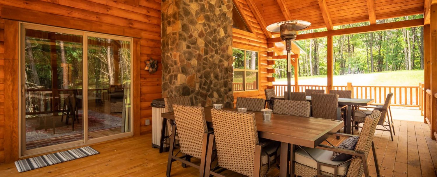 Thelma's Retreat - Porch with Seating Areas